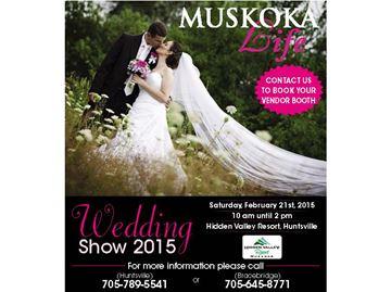 Muskoka Life Wedding Show 2015